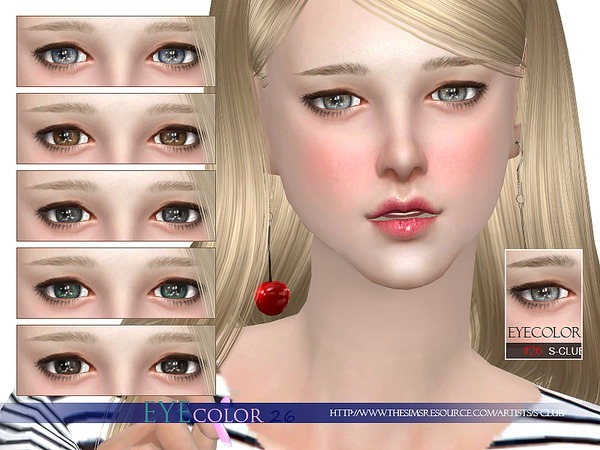 S-Club WM thesims4 Eyecolor 26
