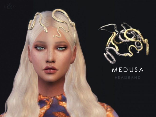 Snake Headband - MEDUSA (Valentino Spring 2016 Couture) by starlord