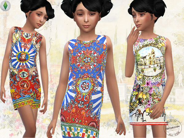 Forever Italy Dress Set by Fritzie.Lein