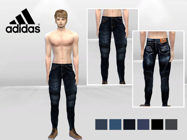 Allen Fade And Spot Urban Jeans by McLayneSims