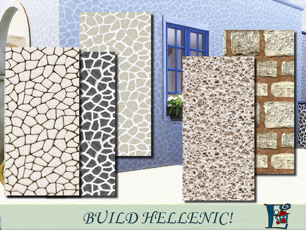 Hellenic walls by evi