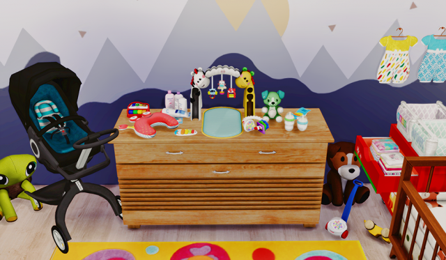 Baby Decor - Mini Outfitters + Beb Orgnicos by dreamteamsims