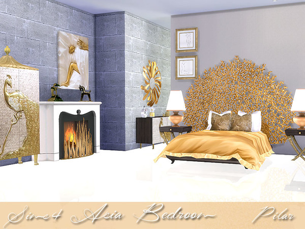Asias Bedroom by Pilar
