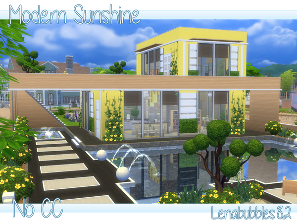 Modern Sunshine No CC by lenabubbles82
