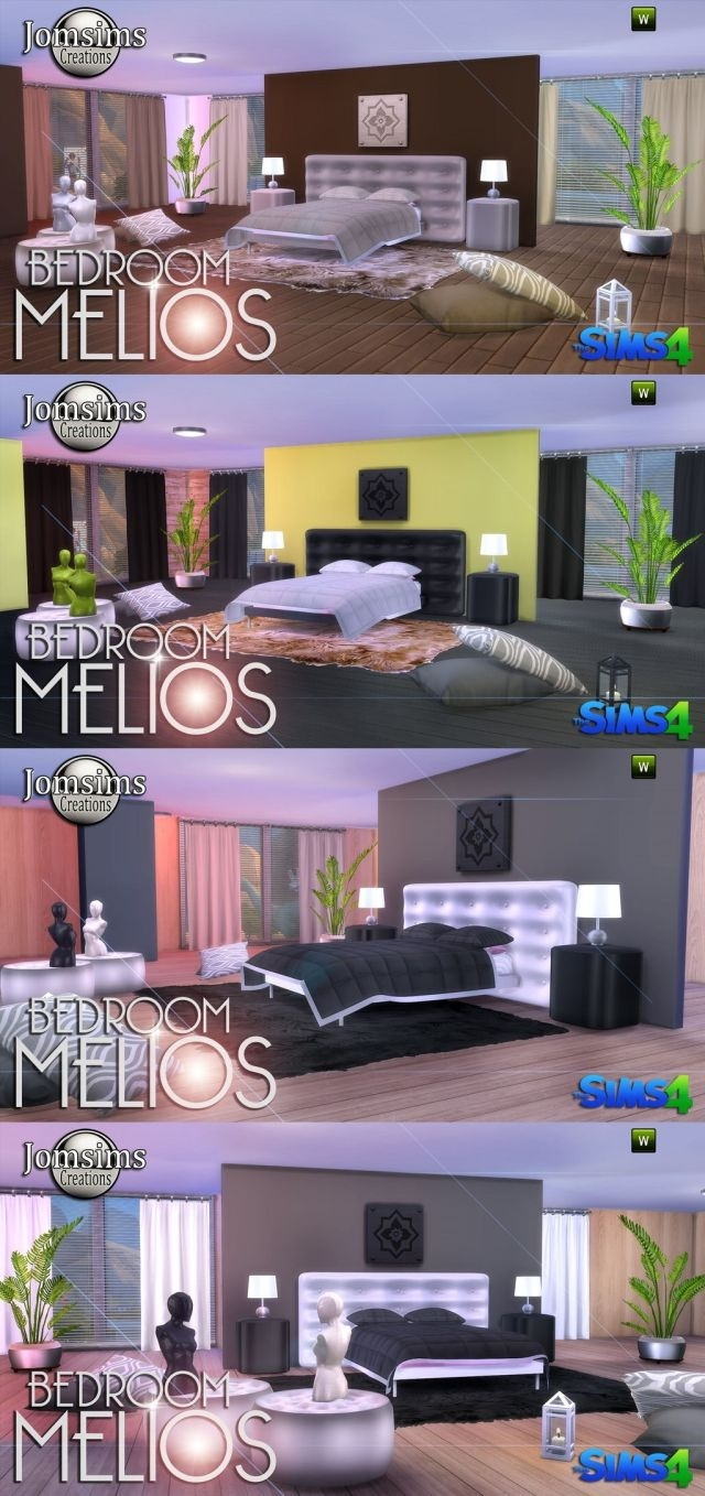MELIOS BEDROOM by JomSims