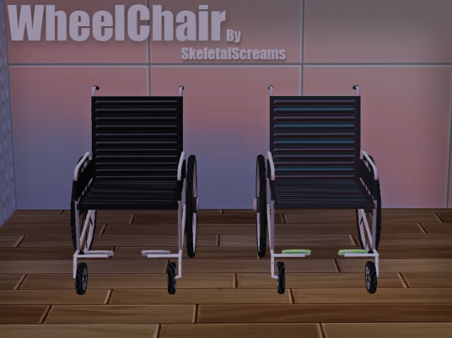 TS2 Wheelchair Conversion by SkeletalScreams