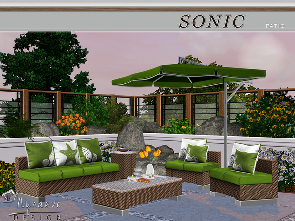 Sonic Patio by NynaeveDesign