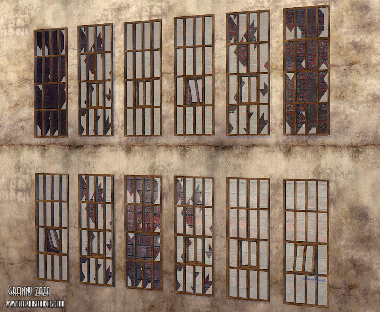 Factory windows conversion by Granny Zaza