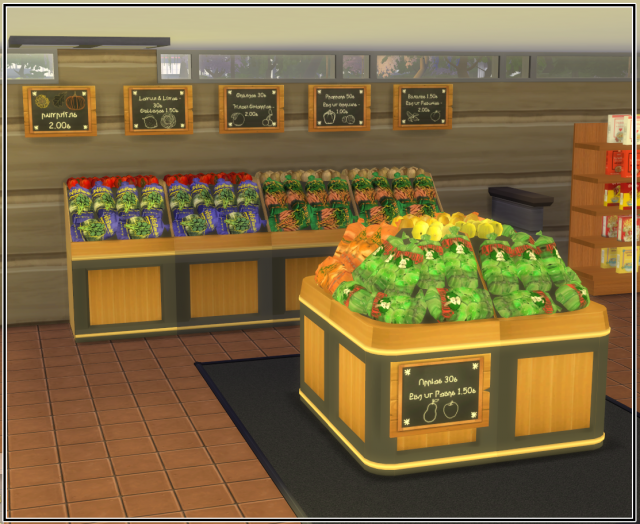 Grocery Store Stuff by Simlifecc