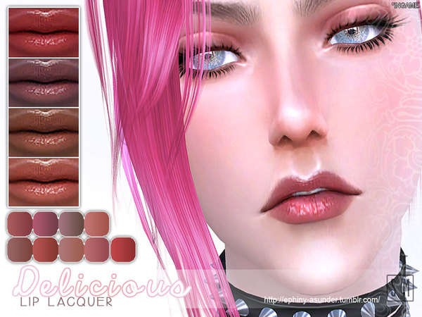 [ Delicious ] - Lip Lacquer by Screaming Mustard