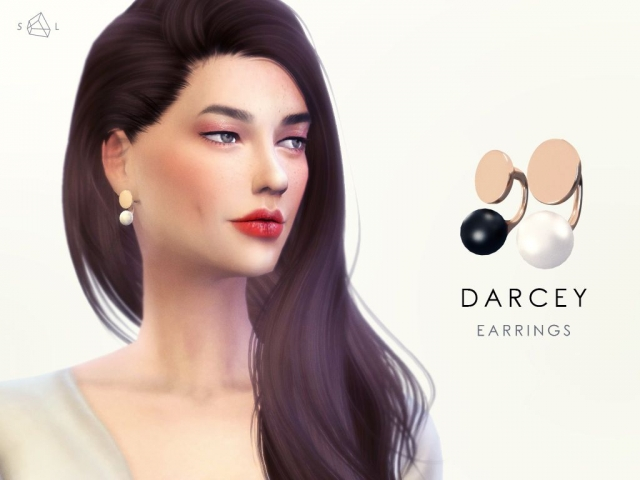Pearl Earrings - DARCEY (Chlo) by starlord