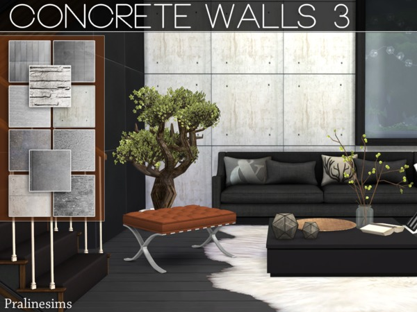 Concrete Walls 3 by Pralinesims