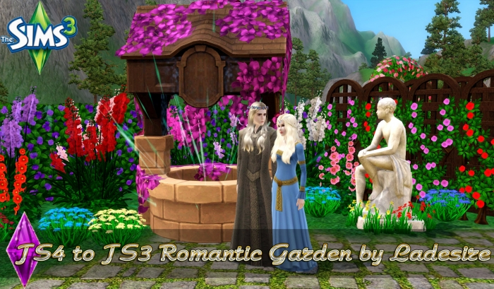 TS4 to TS3 Romantic Garden by Ladesire