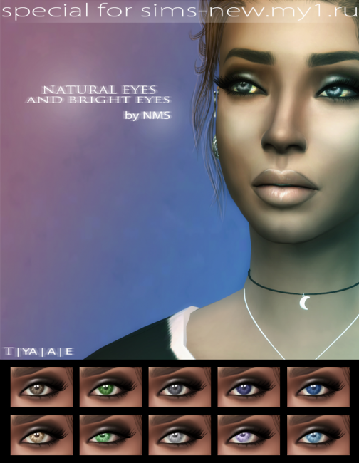 Exsclusive Natural and Bright eyes by NastenaMS