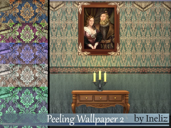 Peeling Wallpaper 2 by Ineliz