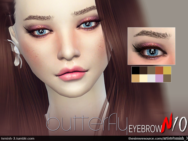 Butterfly Eyebrow by tsminh_3