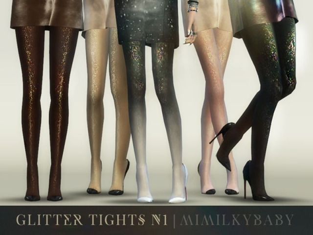 Glitter Tights N1 by mimilky