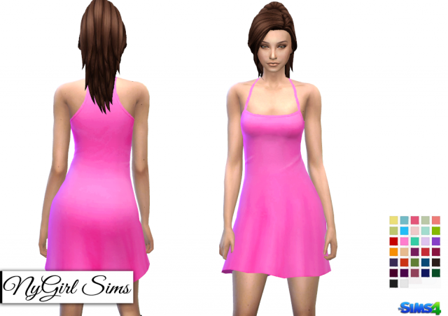 Simple Summer Sundress by NyGirl