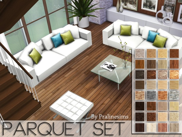 Parquet Set by Pralinesims