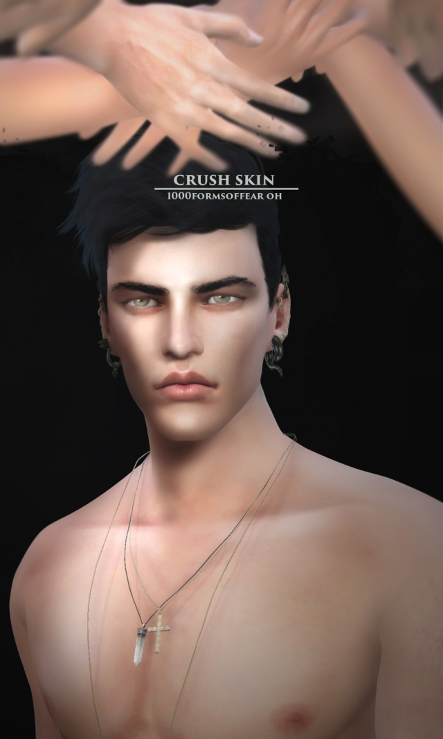 CRUSH skin for male by 1000-formsoffear
