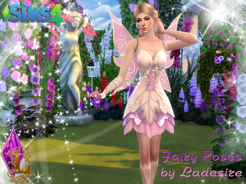 Fairy Poses by Ladesire