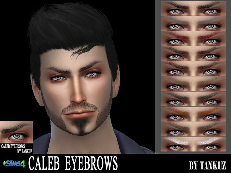 Caleb Eyebrows by Tankuz