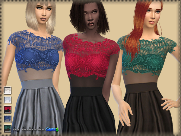 Dress Lace top by bukovka