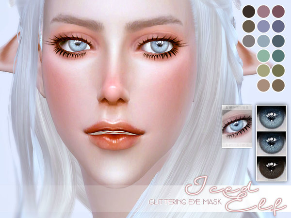 [ Iced Elf ] - Glittering Eye Mask by Screaming Mustard