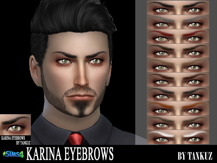 Karina Eyebrows by Tankuz