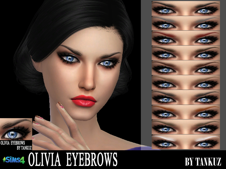 Olivia Eyebrows by Tankuz