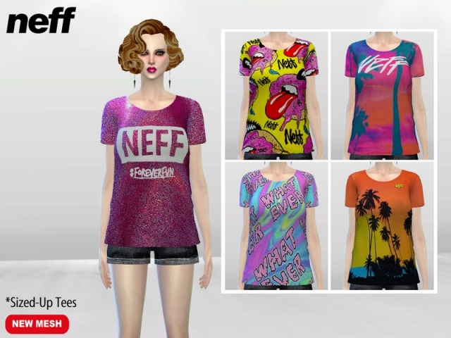 ForeverFun Medium Tees by McLayneSims
