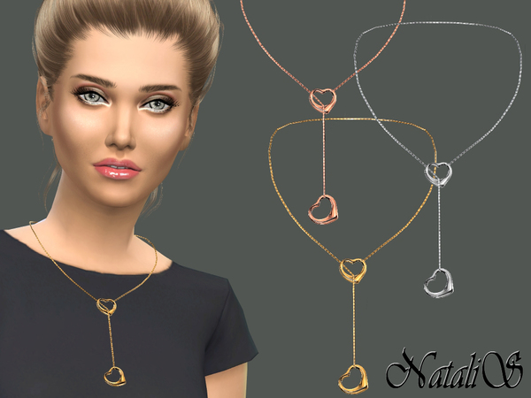 NataliS_Double heart necklace