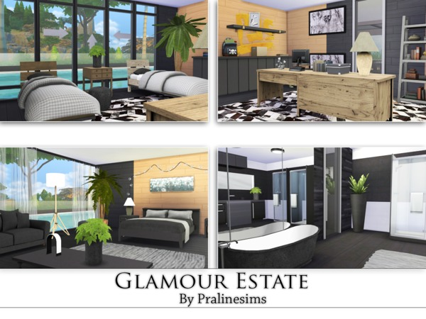 Glamour Estate by Pralinesims