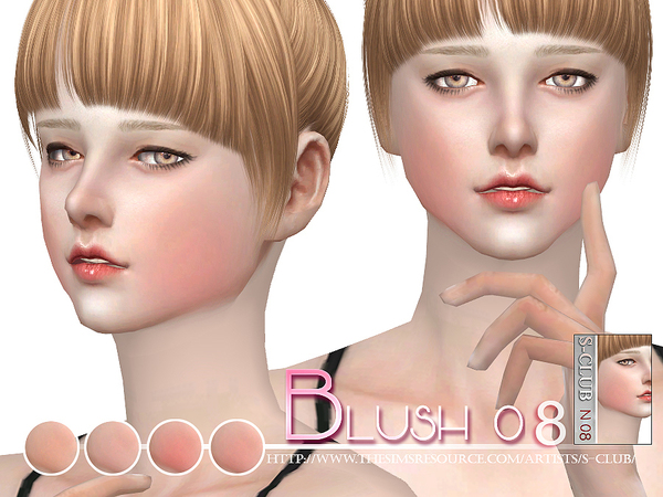S-Club WM ts4 Blush 08