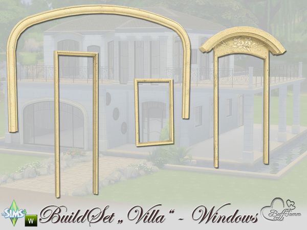 Build-A-Villa Windows and Doors by BuffSumm