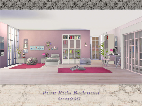 Pure Kids Bedroom by ung999