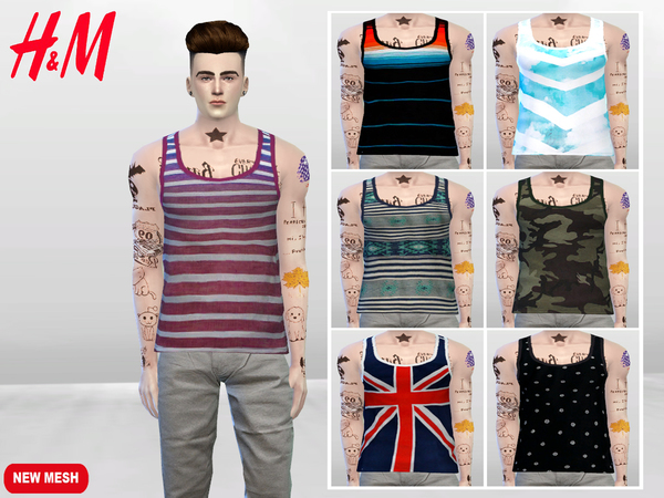 Breezy Boy Tank Tops by McLayneSims