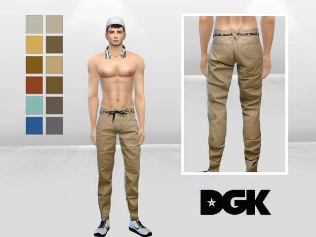 Spears Belted Urban Chinos by McLayneSims