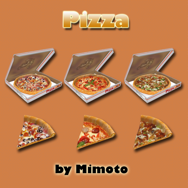 Pizza (Пицца) by Mimoto