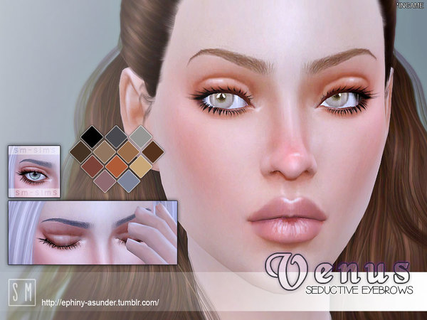 [ Venus ] - Seductive Brows by Screaming Mustard