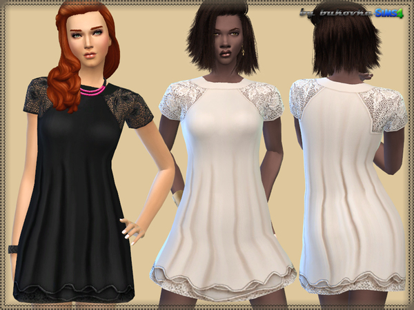 Dress Lace Raglan by bukovka
