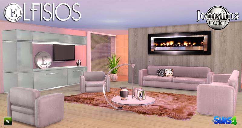 Lfisios Living Set by JomSims