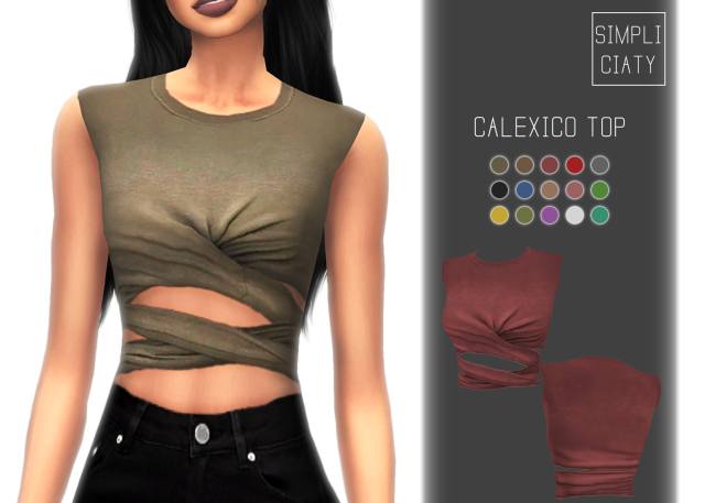 Calexico Top by simpliciaty