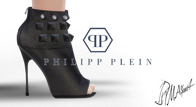 Philipp Plein Leather Boots by MrAntonieddu