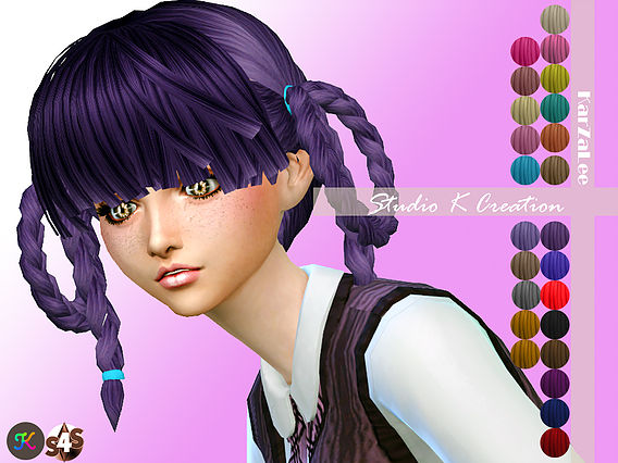 Studio K-Creation Animate hair - 34 Aika for female
