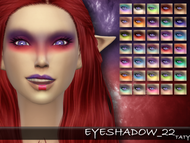 Eyeshadow 22 by tatygagg