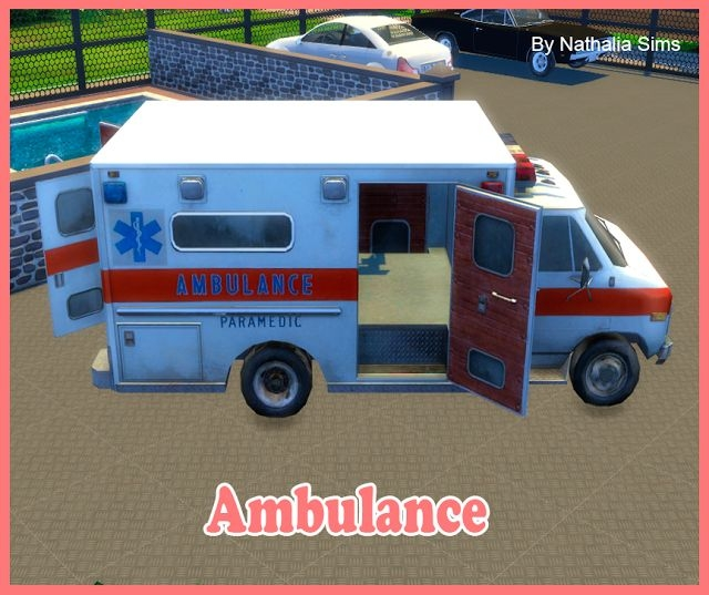 Ambulance by Nathalia Sims