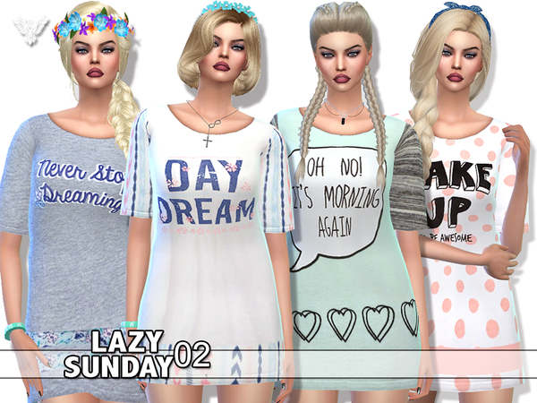 PZC_Lazy Sunday 02 by Pinkzombiecupcakes