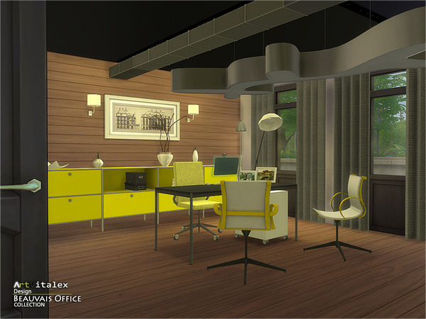 Beauvais Office by ArtVitalex