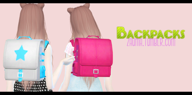 TERA backpacks by Zauma